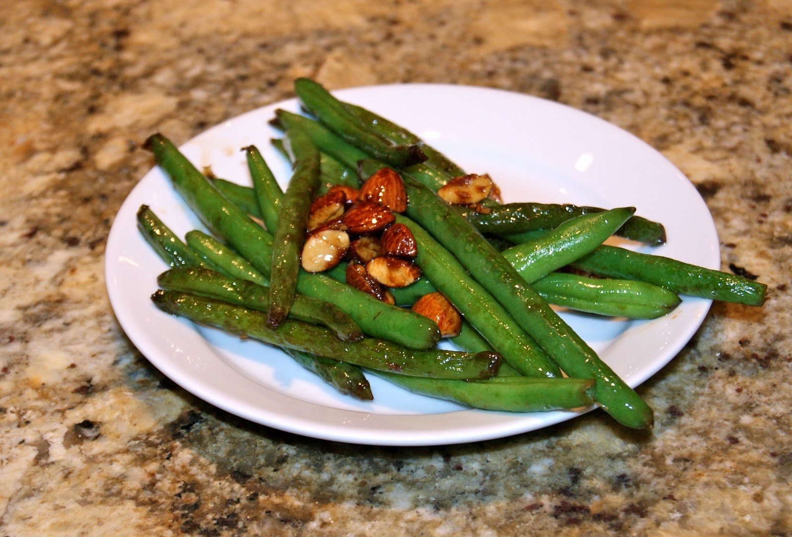 "Stir Fried Green Beans with Tamari Almonds | ""A Touch of ..."