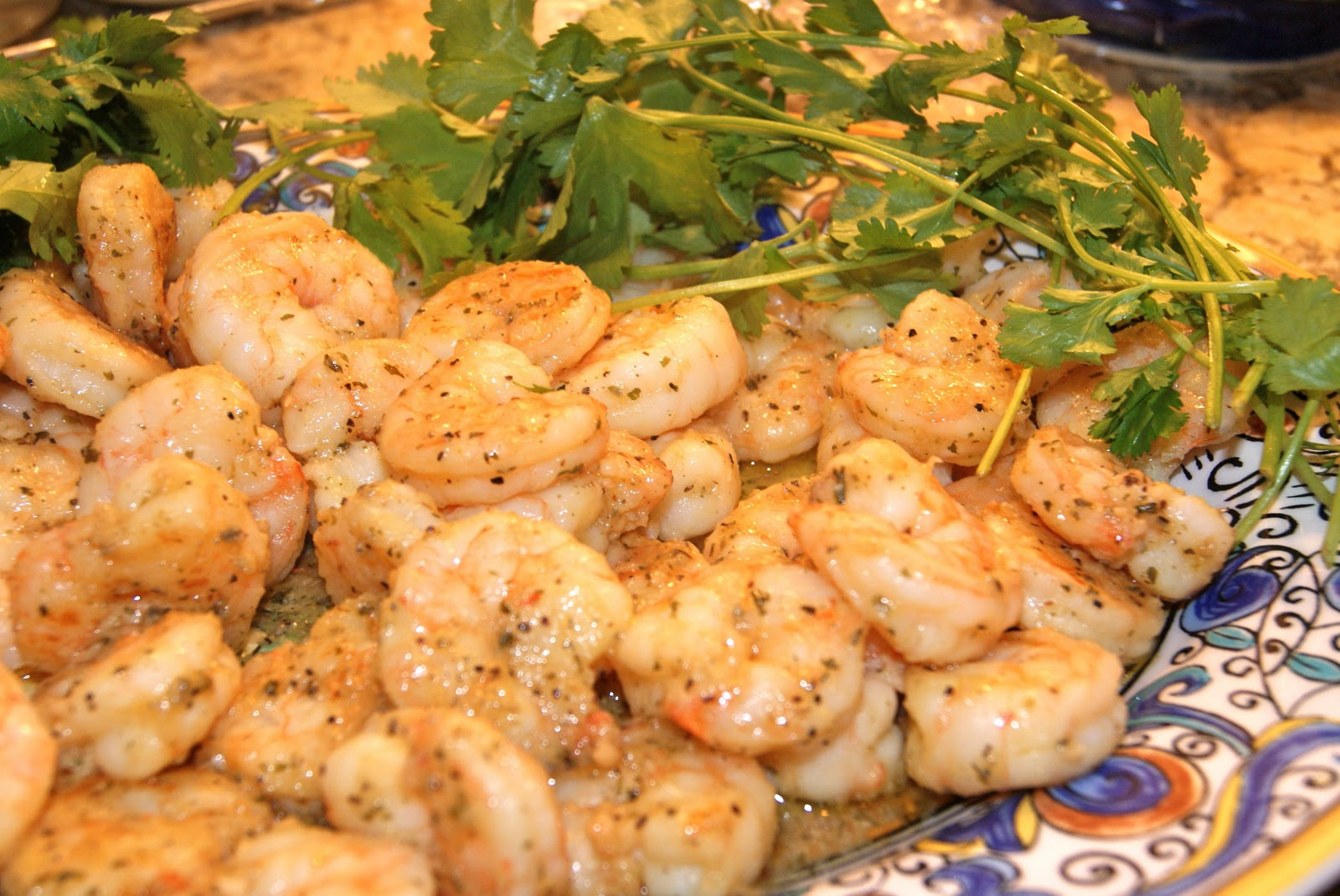 "Sauteed Shrimp with Lemon Pepper | ""A Touch of Lemon and Parm"""